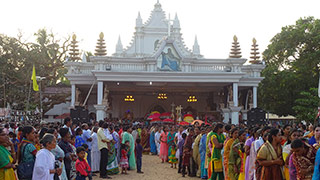 Feast at Our Lady of Assumption Church, Poomkavu