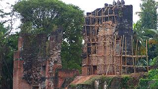 Ruins of Thangassery Fort, Kollam