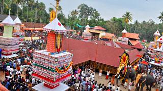 Thrikkadavoor Temple Festival