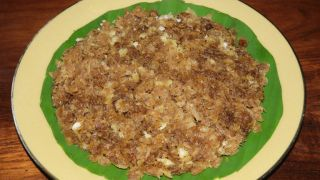 Aval Nanachathu (Sweetened Rice Flakes)