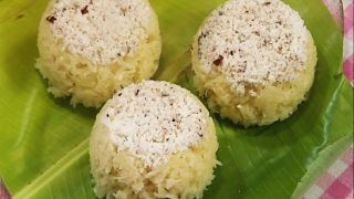 Tapioca Rice Puttu