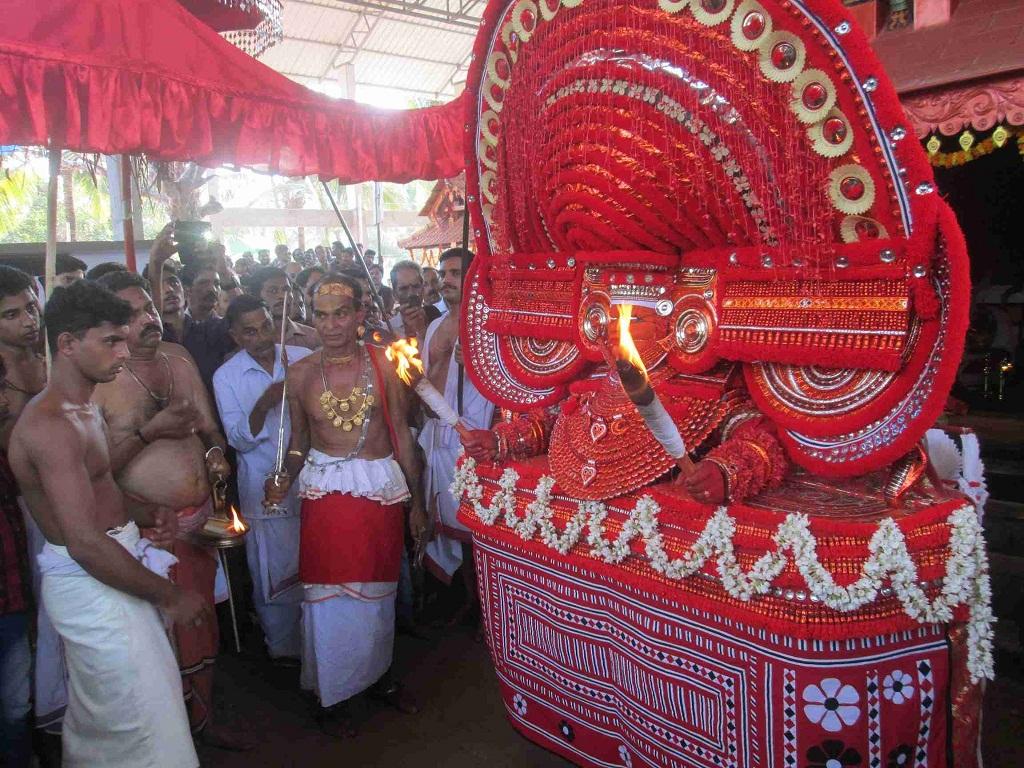 Muchilottu Bhagavathy Theyyam of Narath Muchilottu Bhagavathy Temple