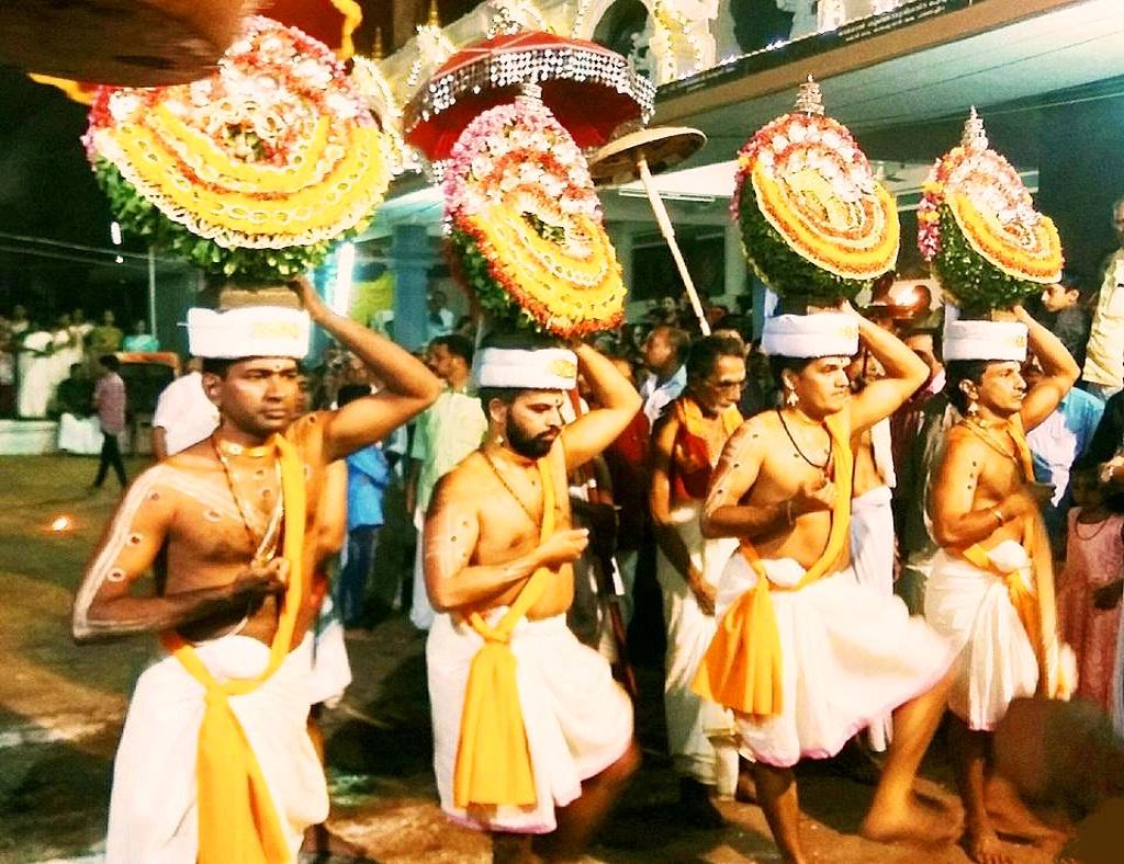 Thidambu Nritham at Hanumarambalam