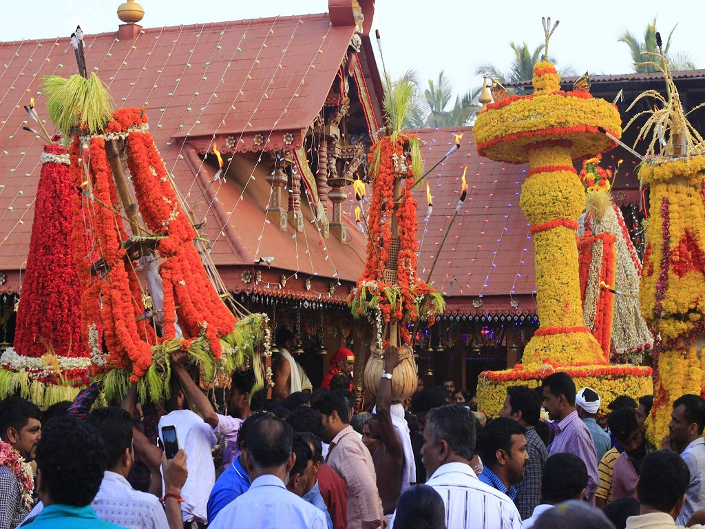 Kalasham Varavu of Sree Kurumba Bhagavathy Temple
