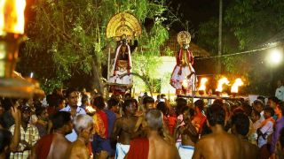 Kali-Darikan Debate of Anthimahakalan Kavu