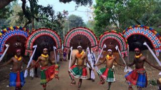 Poothanum Thirayum held during Chinakathoor Pooram