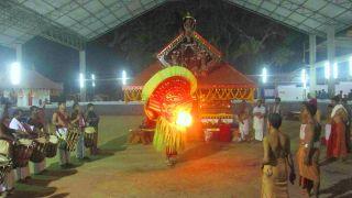 Vishnumoorthy Theyyam of Narath Muchilottu Bhagavathy Temple