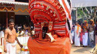 Vadakkathi Bhagavathy Theyyam at Narath Vishwakarma Oorpazhassi Temple