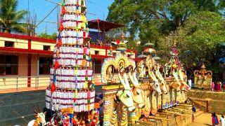 Kaala Vela at Pariyanampetta Pooram