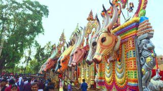 Kaala Vela of Pooram Mahotsavam