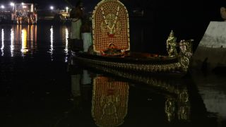 Triprayar Pooram Purappadu & Uthram Vilakku