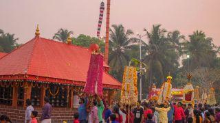 Procession of Kalasham, Sree Kurumba Bhagavathy Temple