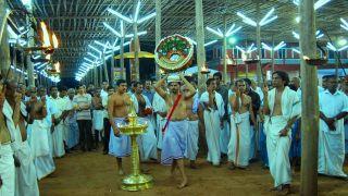 Thidambu Nritham at Cherukunnu Sree Annapoorneshwari Temple