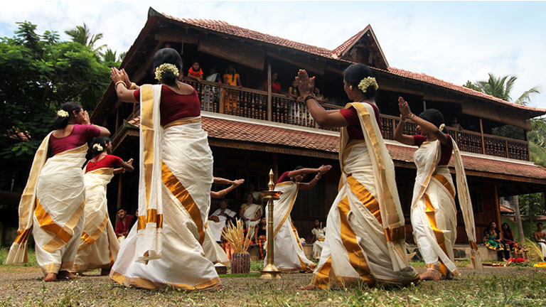 thiruvathira kali dance