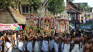 ആറാട്ട് - ശ്രീ പത്മനാഭസ്വാമി ക്ഷേത്രം