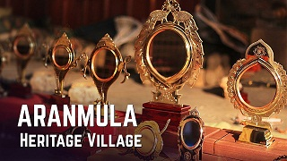 Aranmula Heritage Village: Crafting Ethnic Mirrors