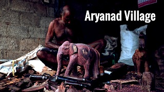 Aryanad Village: Sculpting Magnificent Elephant Figurines