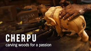 Cherpu – carving woods for a passion